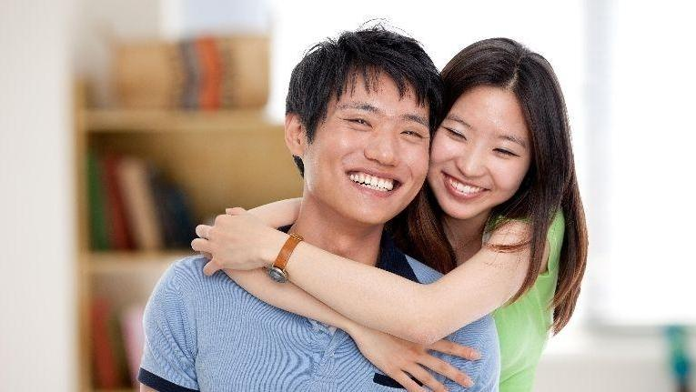 couple smiling | Dental bonding| Dentist in Doylestown PA