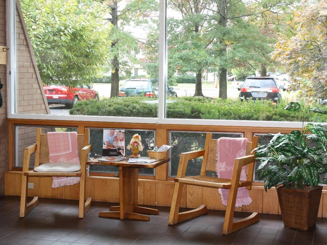 image 2 of the office waiting area | Doylestown PA