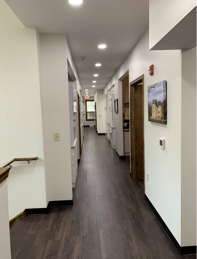 Office Hallway Doylestown Dental Group