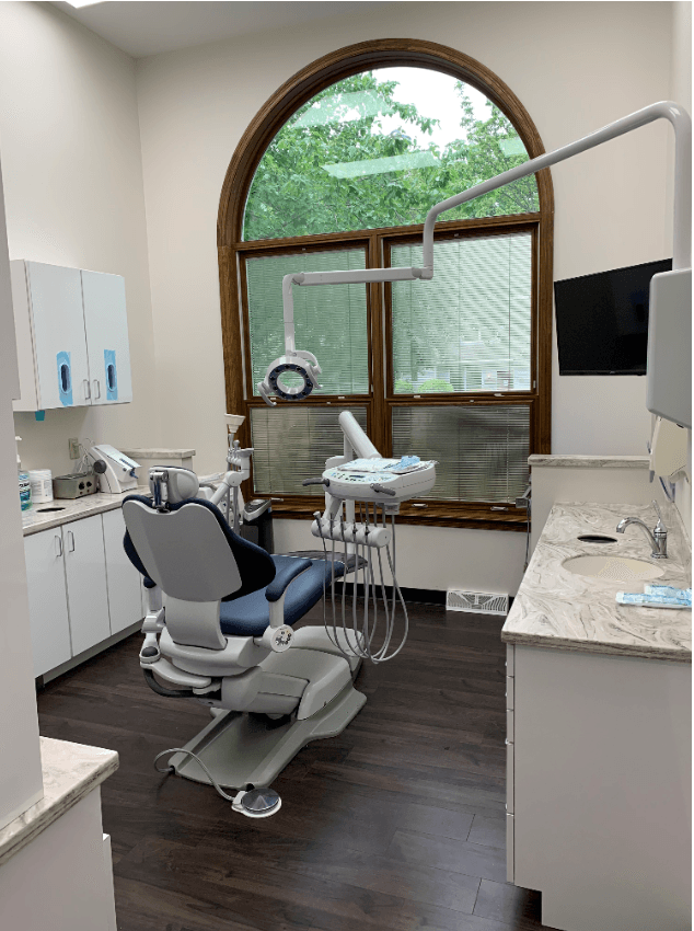 treatment room Doylestown Dental Group